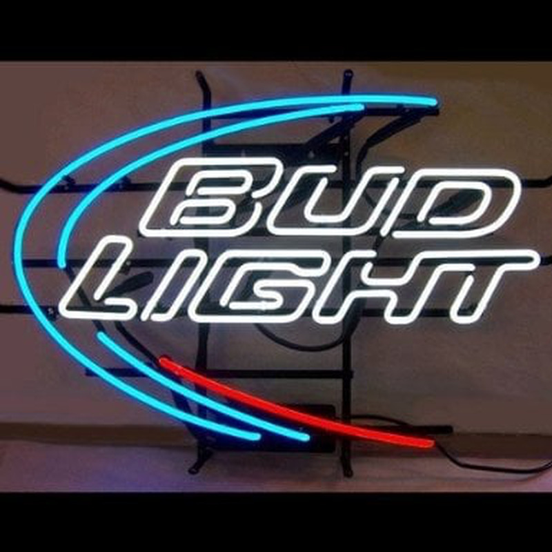 Budweiser Bud Light Beer Bar Handcrafted Enseigne Néon