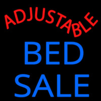Adjust Able Bed Sale Enseigne Néon