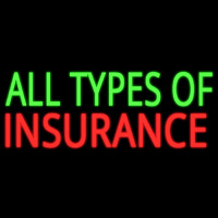 All Types Of Insurance Enseigne Néon