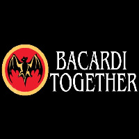 Bacardi Bat Together Rum Sign Enseigne Néon