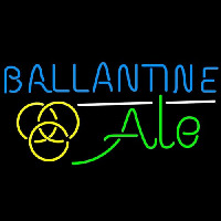 Ballantine Ale Yellow Beer Enseigne Néon