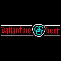 Ballantine Blue Logo Beer Sign Enseigne Néon