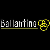 Ballantine Yellow Logo Beer Sign Enseigne Néon