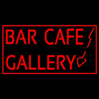 Bar Cafe Gallery Enseigne Néon