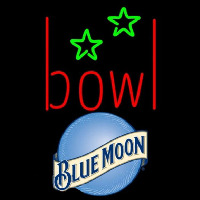 Blue Moon Bowling Alley Beer Sign Enseigne Néon