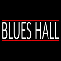 Blues Hall Enseigne Néon