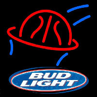 Bud Light Basketball Beer Sign Enseigne Néon