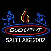 Bud Light Salt Lake 2002 Enseigne Néon
