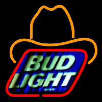 Bud Light Small George Strait Beer Sign Enseigne Néon