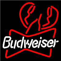 Budweiser Lobster Beer Sign Enseigne Néon
