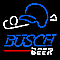Busch Baseball Beer Sign Enseigne Néon