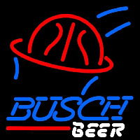 Busch Basketball Beer Sign Enseigne Néon