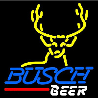 Busch Deer Buck Beer Sign Enseigne Néon