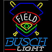 Busch Light Field Colorado Rockies Beer Sign Enseigne Néon