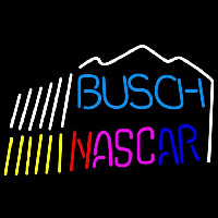 Busch Nascar mountain Beer Sign Enseigne Néon