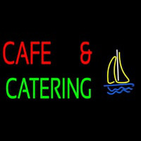 Cafe And Catering Enseigne Néon