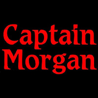 Captain Morgan Red Beer Sign Enseigne Néon
