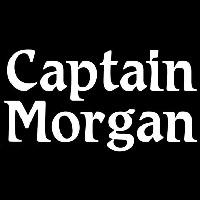 Captain Morgan White Beer Sign Enseigne Néon