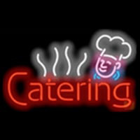 Catering Food Chef Diet Enseigne Néon