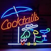 N on cocktails enseignes enseignes - Enseigne lumineuse de bar ...