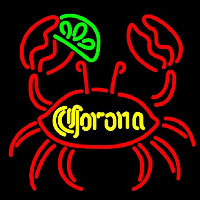 Corona Lime Crab Beer Sign Enseigne Néon