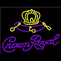 Crown Royal Beer Sign Enseigne Néon