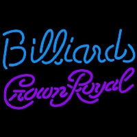 Crown Royal Billiards Te t Pool Beer Sign Enseigne Néon