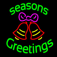 Cursive Seasons Greetings 2 Enseigne Néon
