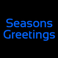 Cursive Seasons Greetings Enseigne Néon