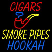 Custom Cigars Smoke Pipes Hookah Enseigne Néon