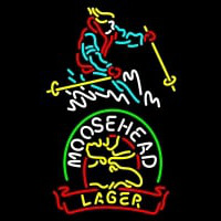 Custom Steamboat Moosehead Beer Enseigne Néon