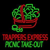 Custom Trappers E press Picnic Take Out Enseigne Néon