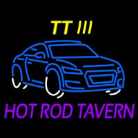 Custom Tt 3 Hot Rod Tavern Car Logo 1 Enseigne Néon