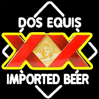 DOS Equis Imported Beer Sign Enseigne Néon