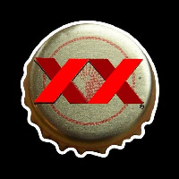Dos Equis Amber Me ico Bottle Cap Beer Sign Enseigne Néon