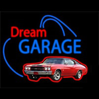 Dream Garage Chevy Chevelle Ss Enseigne Néon