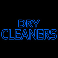 Dry Cleaners Enseigne Néon