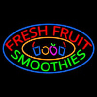 Fresh Fruit Smoothies Enseigne Néon