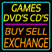 Games Dvds Cds Buy Sell E change 2 Enseigne Néon