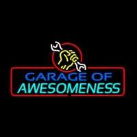 Garage Of Awesomeness Enseigne Néon