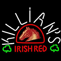 George Killians Irish Red Horse Head Shamrock Beer Sign Enseigne Néon