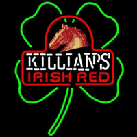 George Killians Irish Red Shamrock Beer Sign Enseigne Néon