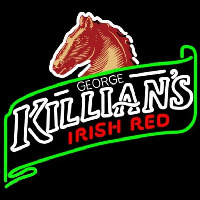 George Killians Irish Red Summer Beer Sign Enseigne Néon