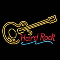 Hard ROCK LIVE MUSIC Guitar Party Enseigne Néon