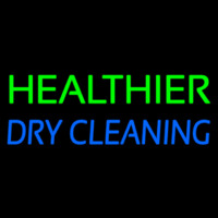 Healthier Dry Cleaning Enseigne Néon