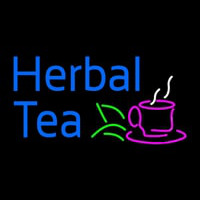 Herbal Tea Enseigne Néon