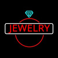 Jewelry Center Ring Logo Enseigne Néon