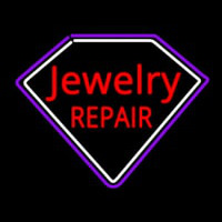 Jewelry Repair Red Enseigne Néon