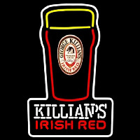Killians Irish Red Pint Glass Of Beer Sign Enseigne Néon