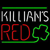 Killians Red Shamrock Beer Sign Enseigne Néon